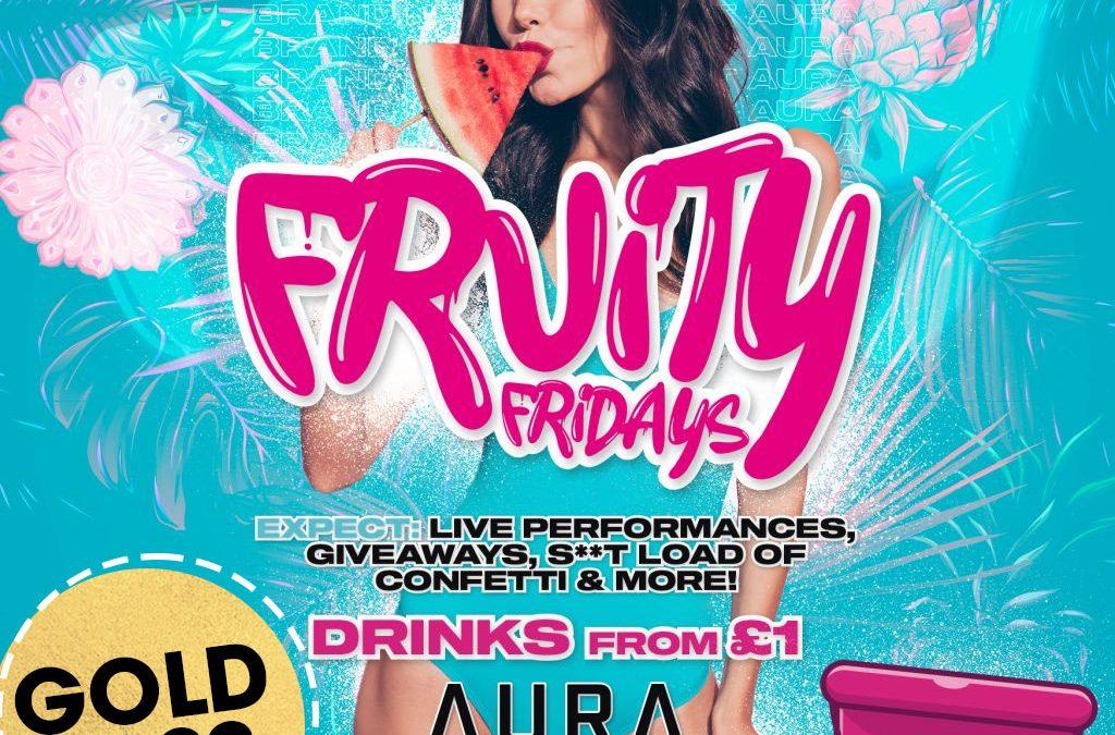 Fruity Friday: Dundee Freshers Week 2021